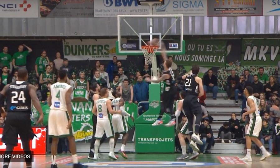 Τρομερός Άνταμς στο Top 5 του Basketball Champions League (video)