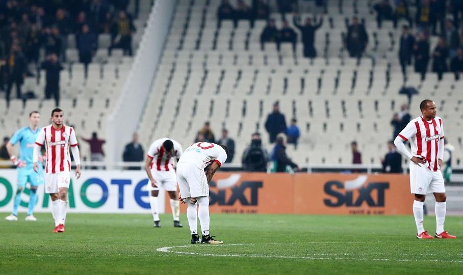Απογοήτευση και παράπονα για τους παίκτες στον Ολυμπιακό