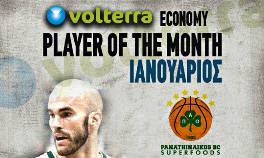 Player of the Month: Νικ Καλάθης (photo & video)