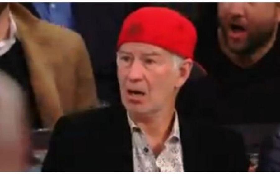 Έπαθε … πλάκα ο Τζον ΜακΈνρο με το κάρφωμα του Αντετοκούνμπο! (video)