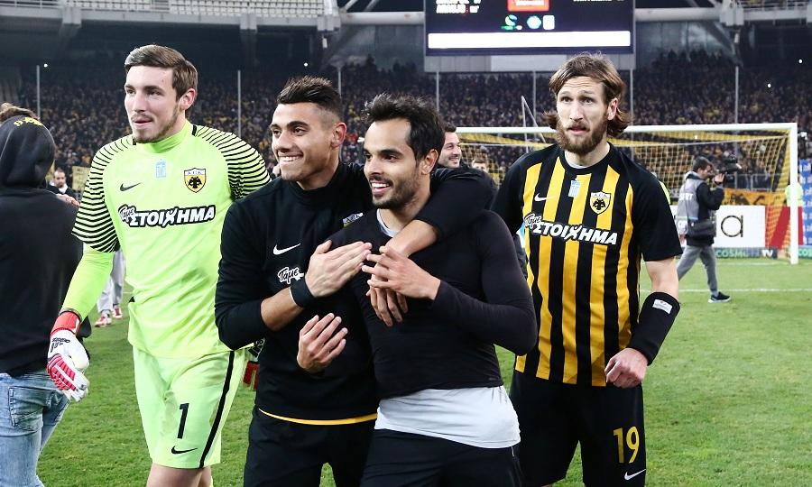 Οι ποδοσφαιριστές της ΑΕΚ ξέρουν γιατί νιώθουν καλά μαζί της!