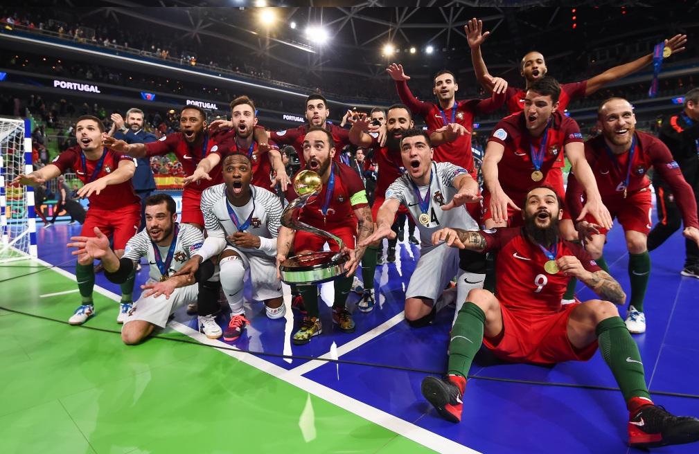 Πρωταθλήτρια Ευρώπης στο ποδόσφαιρο σάλας  η Πορτογαλία