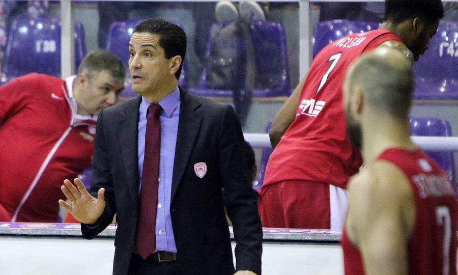 Σφαιρόπουλος: «Τα ριμπάουντ και οι ασίστ έδειξαν τη διάθεση των παικτών»