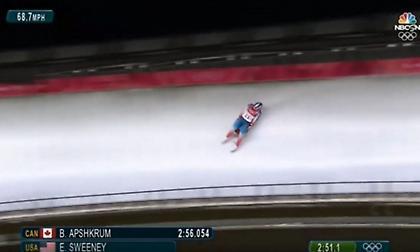 Σοκαριστικό ατύχημα στους Χειμερινούς Ολυμπιακούς Αγώνες (video)