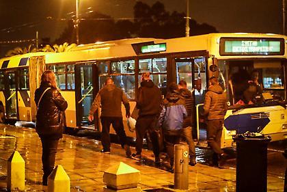 Ινκόγκνιτο στο ΟΑΚΑ οι Ουκρανοί οπαδοί με… λεωφορείο του ΟΑΣΑ!