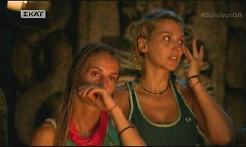 Survivor: Μαλλιά κουβάρια η Κωνσταντίνα Σπυροπούλου με συμπαίκτρια της!