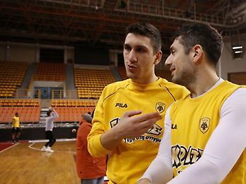 Λαρεντζάκης: «100% έτοιμοι για να πάρουμε το κύπελλο»