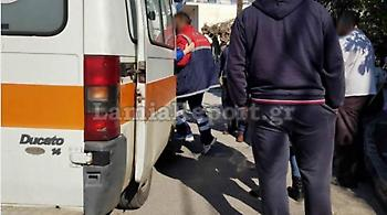 Λαμία: Οδηγός παρέσυρε ελαφρώς παιδάκι που πετάχτηκε στο δρόμο