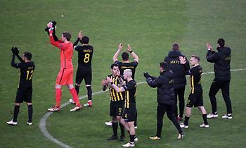 Η παρακάμερα της ΑΕΚ από το ματς με την Ντιναμό Κιέβου