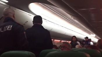Καυγάς σε αεροπλάνο λόγω... αερίων ενός επιβάτη (video)