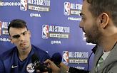 Ντάριο Σάριτς: «Ο Γιάννης είναι ξεχωριστός παίκτης» (video)