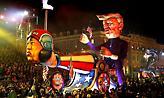 Τραμπ και Κιμ Γιονγκ Ουν πρωταγωνιστές στο φαντασμαγορικό καρναβάλι της Νίκαιας