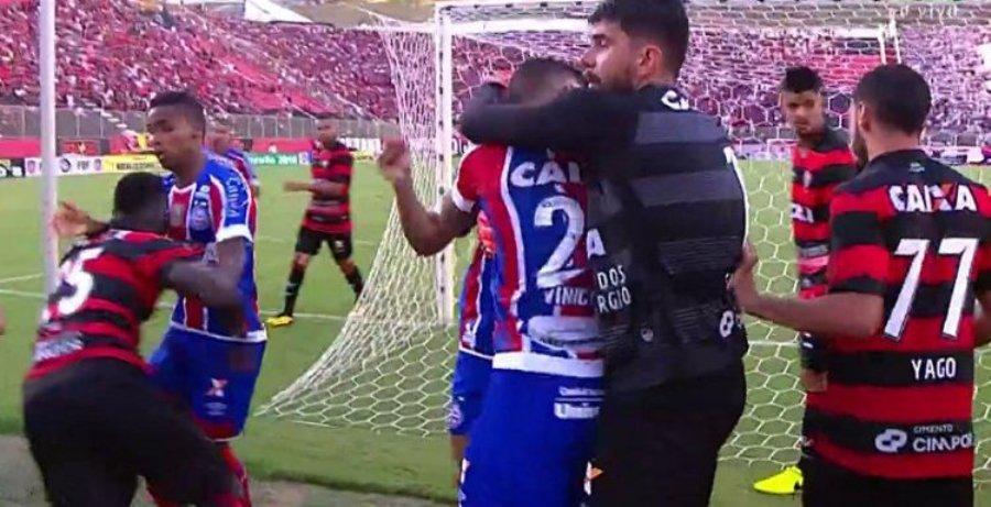 Απίστευτο ξύλο μεταξύ παικτών στη Βραζιλία! (video)