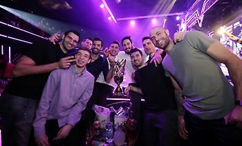 Έτσι γλέντησε η ΑΕΚ για το Κύπελλο (pics)