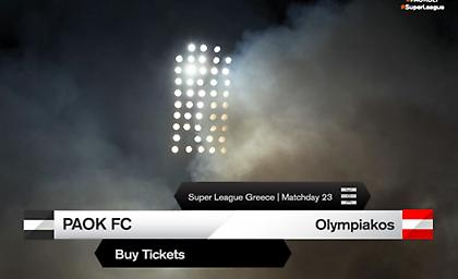 Κυκλοφορούν και γίνονται ανάρπαστα τα εισιτήρια ΠΑΟΚ – Ολυμπιακός!