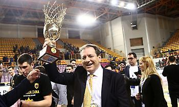 Μ. Αγγελόπουλος: «Στόχος να φέρουμε το Final 4 στο ΟΑΚΑ»