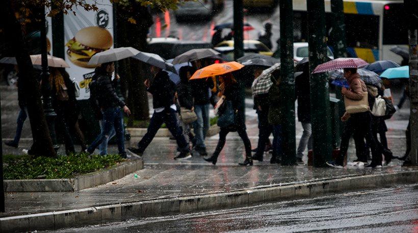 Έκτακτο δελτίο επιδείνωσης καιρού: Βροχές και καταιγίδες μέχρι την Πέμπτη