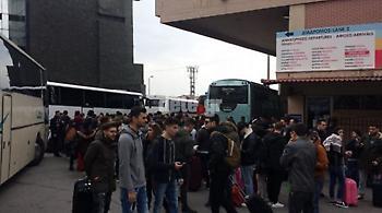 Πάτρα: Ρεκόρ επισκέψεων στο καρναβάλι – Κάθε δύο λεπτά λεωφορείο από τα ΚΤΕΛ