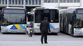 ΟΑΣΑ: Πεντάωρη στάση εργασίας στα λεωφορεία την Τρίτη