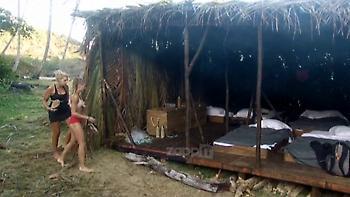 Survivor: Τρελό κράξιμο σε Σπυροπούλου από Ξένια και Δαλάκα! «Αν έχεις πρόβλημα κορίτσι μου…»