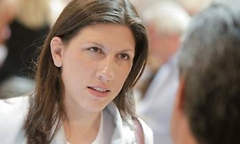 Ζωή Κωνσταντοπούλου: Πρακτικές μαφίας από την κυβέρνηση εναντίον των αντιπάλων της