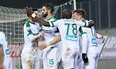 Παγκάκης: «Με το διπλό στη Λάρισα έφυγε η πίεση από τους παίκτες»