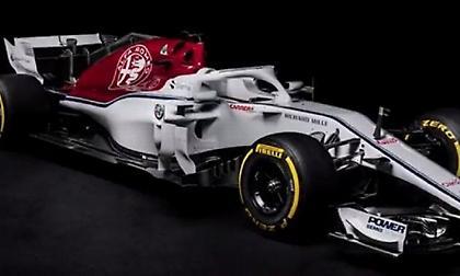 Αποκαλύφθηκε η νέα Alfa Romeo-Sauber (pic/video)