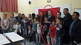 Κοτζιάς: Μεμονωμένο περιστατικό ο μαθητής με μπλούζα της «Μεγάλης Αλβανίας» στα Χανιά