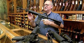 Το 66% των Αμερικανών τάσσεται υπέρ της αυστηρότερης νομοθεσίας για την οπλοκατοχή
