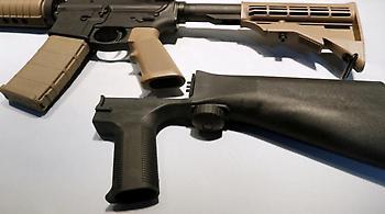 Ο Τραμπ προτείνει να απαγορευθεί το εξάρτημα που μετατρέπει τα όπλα σε αυτόματα