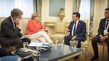 Συνάντηση Μέρκελ-Ζάεφ στο Βερολίνο