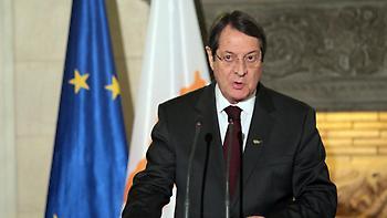 Δήλωση Αναστασιάδη: «Οι ενεργειακοί σχεδιασμοί θα συνεχιστούν κανονικά»