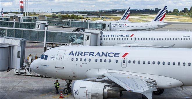 Πολλές ακυρώσεις πτήσεων της Air France την Πέμπτη λόγω απεργίας