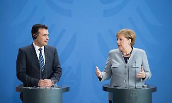 Μέρκελ και Ζάεφ αποκάλεσαν «Μακεδονία» την ΠΓΔΜ