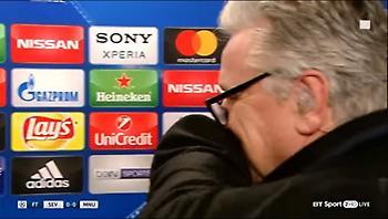 Φοβερός Μουρίνιο – Αγκάλιασε δημοσιογράφο για την ερώτηση που του έκανε! (video)