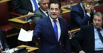 Γεωργιάδης: Ο Τσίπρας κρατούσε τη Novartis ως προεκλογική εφεδρεία αλλά…