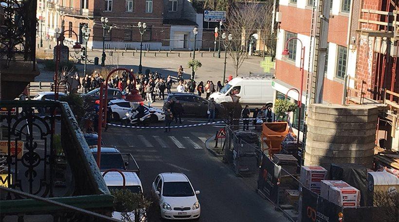 Επιχείρηση της αστυνομίας σε κτίριο στις Βρυξέλλες