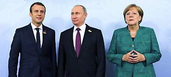 Μακρόν, Μέρκελ και Πούτιν θα τα πουν για τη Συρία -Για την εκεχειρία 30 ημερών