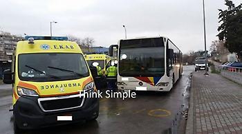 Θεσσαλονίκη: Ηλικιωμένη άφησε την τελευταία της πνοή σε λεωφορείο του ΟΑΣΘ