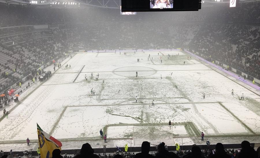 Στα λευκά το γήπεδο της Γιουβέντους: Αναβλήθηκε το ματς με την Αταλάντα (pics/video)