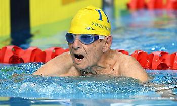 Παγκόσμιο ρεκόρ στα 50μ. ελεύθερο από… 99χρονο κολυμβητή!