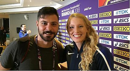 Σάντι Μόρις στο sport-fm.gr: «O ανταγωνισμός με την Κατερίνα είναι ό,τι καλύτερο για το άθλημα»