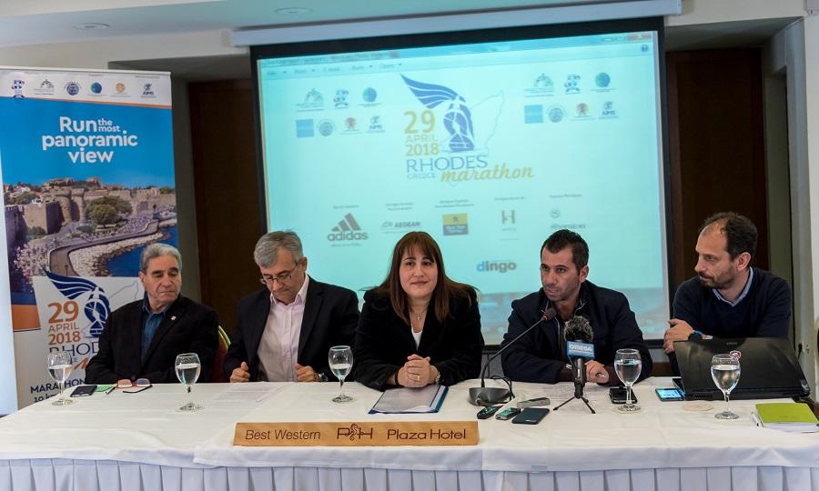 Στην τελική ευθεία οι προετοιμασίες για τον 5ο διεθνή Μαραθώνιο Ρόδου