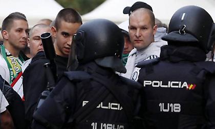 Συναγερμός στη Μαδρίτη για τον… ερχομό των οπαδών της Λοκομοτίβ!