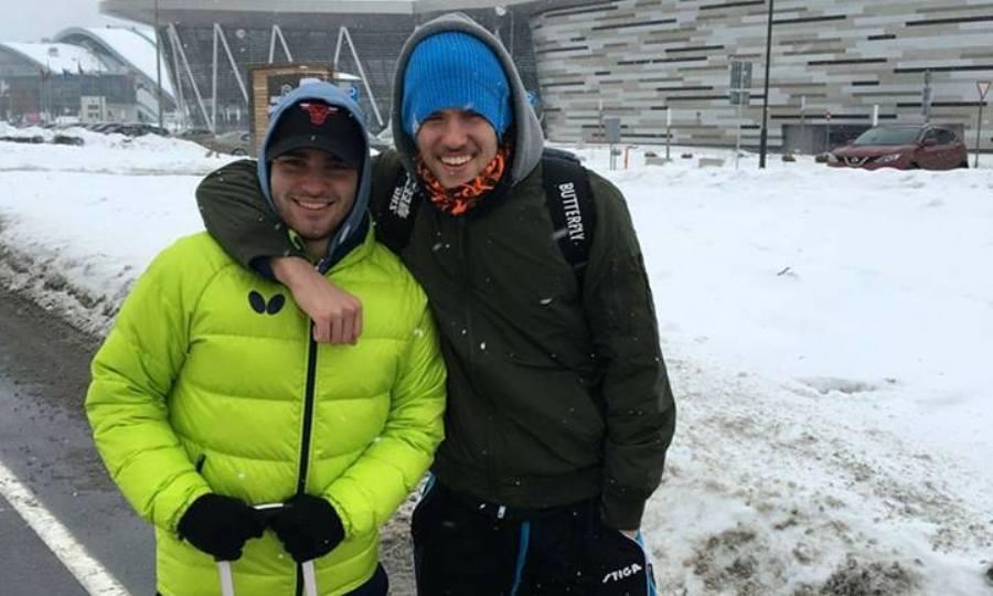 Οι αντίπαλοι του Σγουρόπουλου και του Αγγελάκη στο Ευρωπαϊκό Πρωτάθλημα πινγκ πονγκ U21