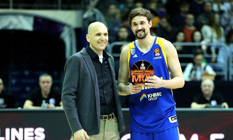 Παρέλαβε το βραβείο του MVP ο Σβεντ