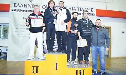 Με επιτυχία ολοκληρώθηκε το Πανελλήνιο πρωτάθλημα πάλης Εφήβων/Νεανίδων