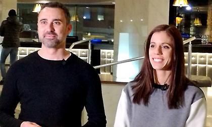 Στεφανίδη και Καπουτζίδης στο «No Finish Line»