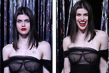 Η σούπερ αποκαλυπτική εμφάνιση της Αλεξάντρα Νταντάριο (pics)