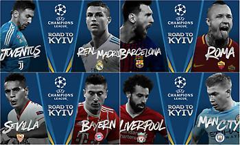 Champions League: Το πρόγραμμα της προημιτελικής φάσης